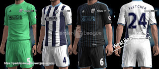 Kits West Bromwich Albion 2016-2017 Pes 2013 By syirojuddin15