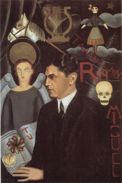 Фрида Кало - Портрет Мигель Н. Лира. 1927