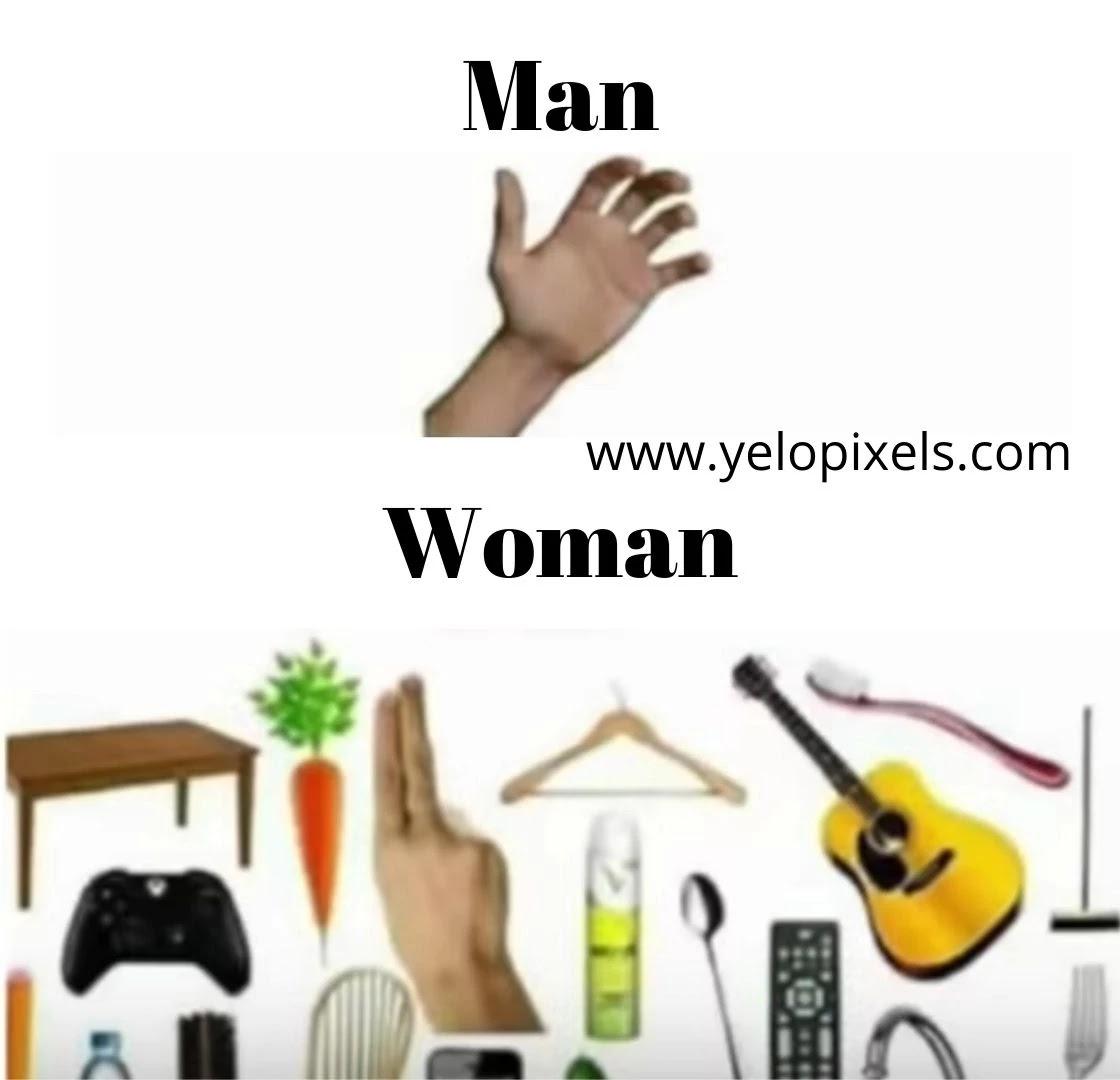 Woman+and+man+memes
