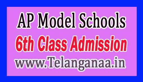 AP Model Schools 2017/2018 Admission Notification is Online Information