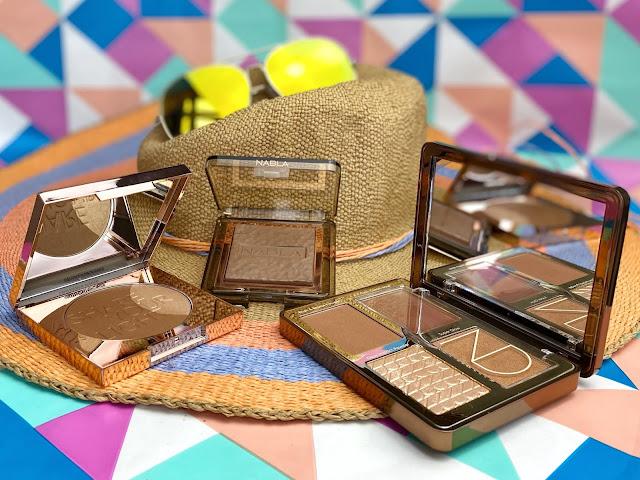 Zoeva Radiant Bronzer Highlighter LUMI 0.4, Natasha Denona Tan Bronze & Glow Palette Nabla Skin Bronzing Soft Revenge