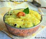 Saamai Ven Pongal, Little Millet Pongal
