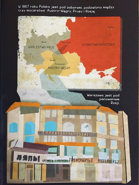 """Recenzja #173 - """"Maria Skłodowska-Curie. Światło w ciemności"""" - przykładowa strona 2 - Francuski przy kawie"""