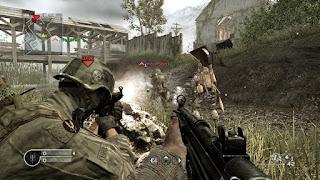 تحميل لعبة الاكشن والحروب Call of Duty 4: Modern Warfare