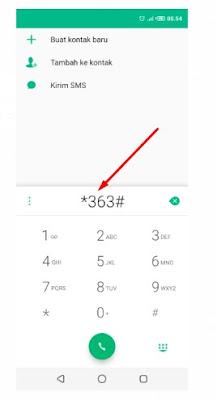Menu UMB *363# Kuota Ketenangan Telkomsel