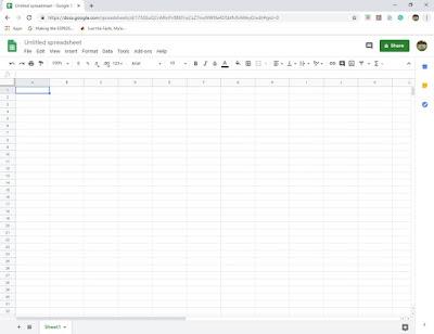 Brand new spreadsheet