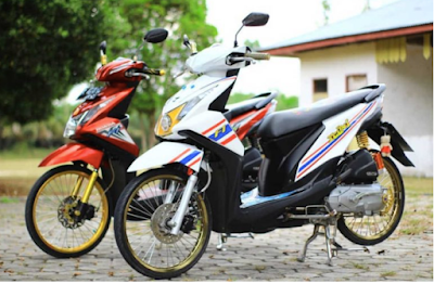 Modifikasi Motor Beat-Fi Simple