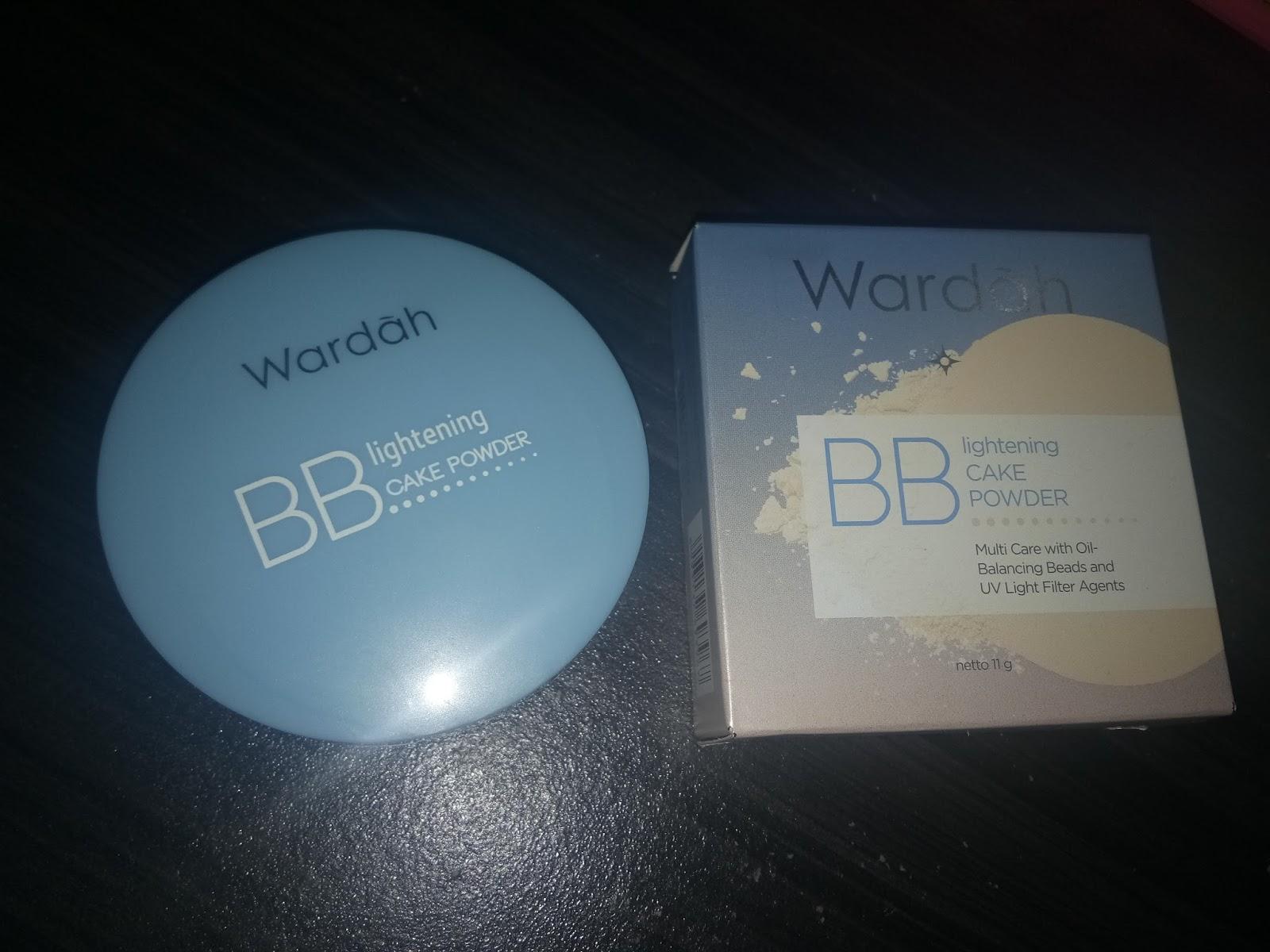 wardah lightening bb cake powder.