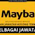 Jawatan Kosong Terkini Di Malayan Banking Berhad (Maybank). Pelbagai Jawatan Ditawarkan