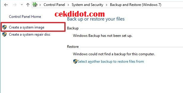 Tutorial Kumputer Cara Mudah Backup File di windwos 10