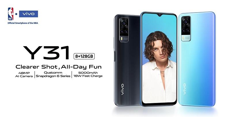 Gaming smartphone vivo Y31 now official, pre-order starts Feb. 6