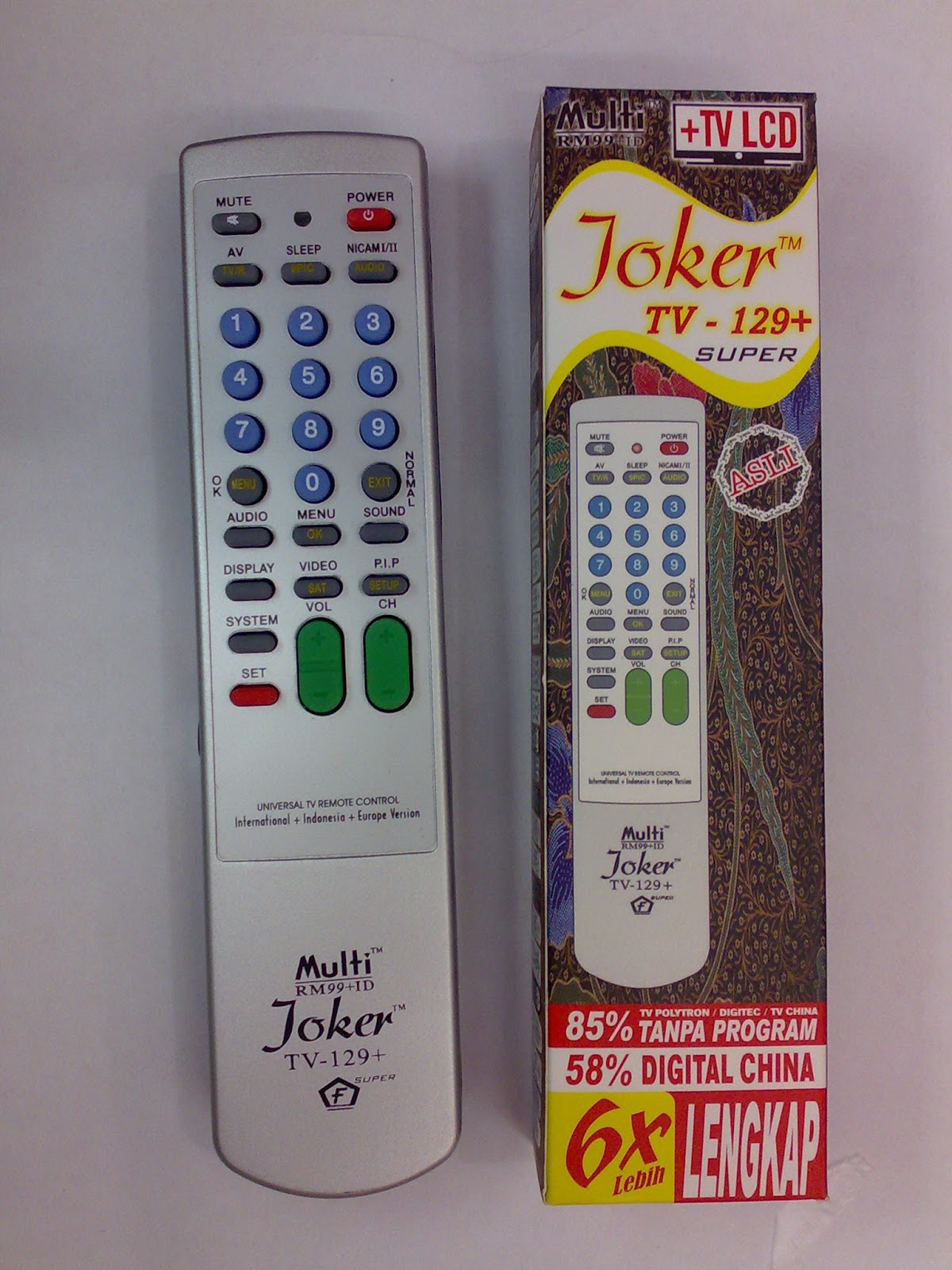 Joker rm99 id universal remote for 1000 in 1 universal a c remote code table