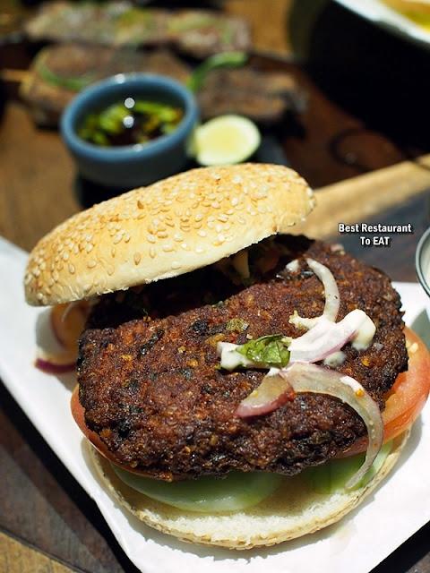 TOMMY THONGCHAI JAYA ONE  Menu - Laarb Moo Tod Burger