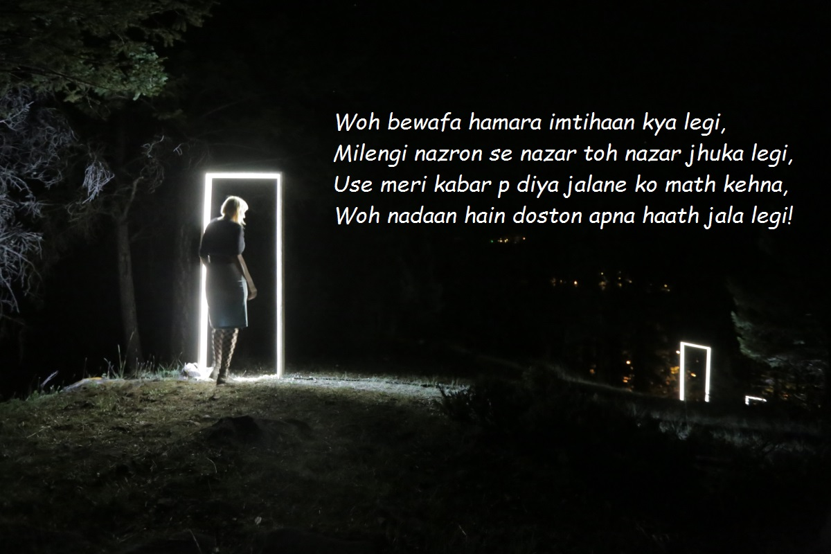 bewafa shayari image