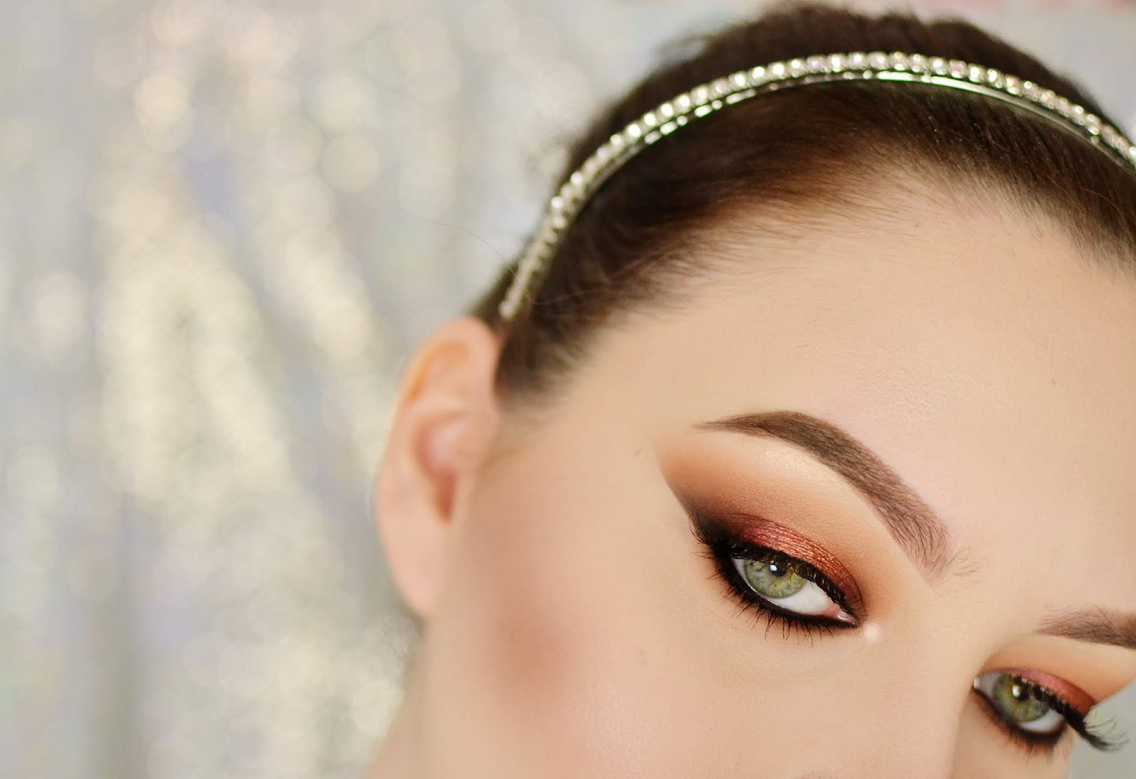 elegancki makijaż na lato
