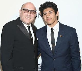Picture of Willie Garson with his son Nathen Garson