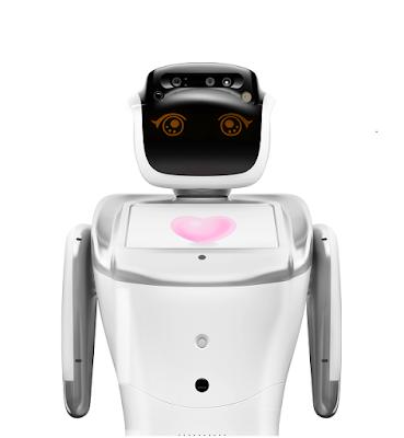 Robô de serviço Sanbot junta-se ao Congresso Internacional Labour2030