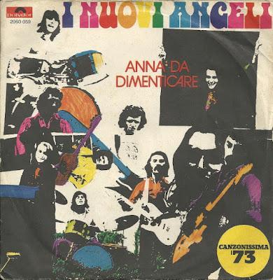Musica serie 45 giri : I Nuovi Angeli – Anna Da Dimenticare (1973)