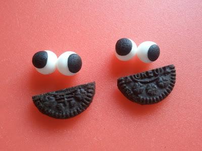 Cake pop monstruo de las galletas
