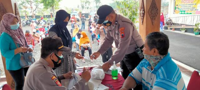 243 Orang Tervaksin Dalam Pogram Vaksinasi Merdeka Candi