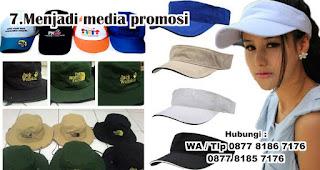 Menjadi media promosi