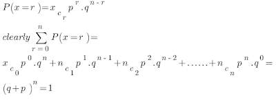 Discuss About Binomial Distribution 1