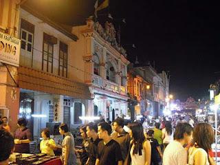 Bummel durch die Melaka Altstadt und Jonker Street