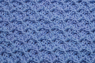 4 - Crochet Imagen Puntada a relieve sencilla por Majovel Crochet