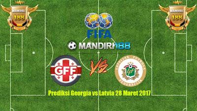 AGEN BOLA - Prediksi Georgia vs Latvia 28 Maret 2017