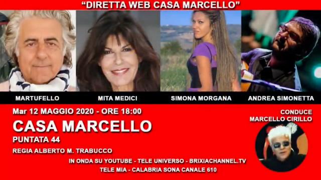 Diretta Youtube su Casa Marcello