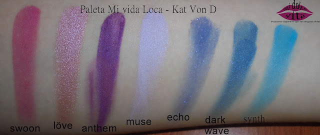 Paleta Mi Vida Loca - Kat Von D