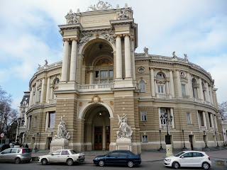 Одеса. Одеський національний академічний театр опери та балету