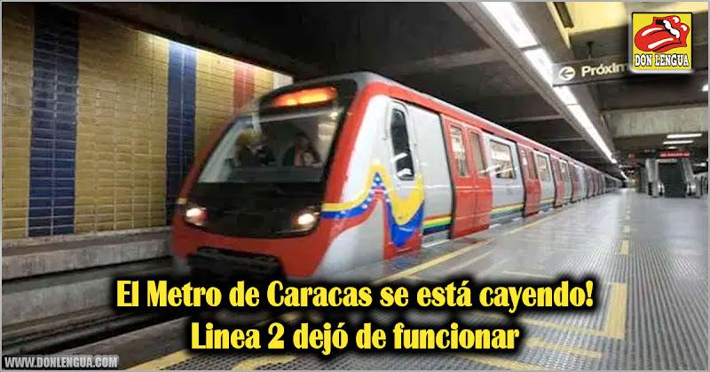 El Metro de Caracas se está cayendo! Linea 2 dejó de funcionar