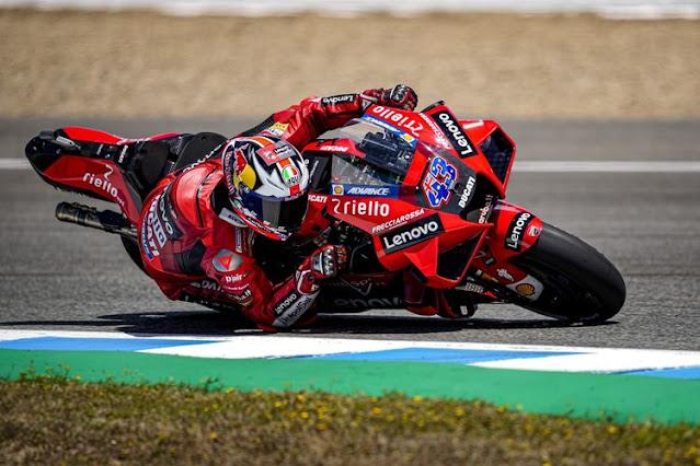 Hasil MotoGP Jerez 2021: Miller Juara, Quartararo Haduh Nasib Mu !!!