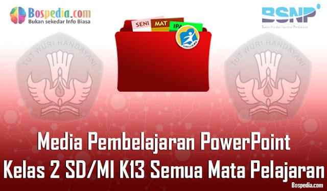 Media Pembelajaran PowerPoint Kelas 2 SD/MI K13 Semua Mata Pelajaran