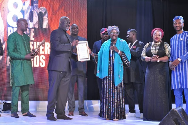 Tambuwal, Dino Melaye, Shina Peller, Ned Nwoko and others Bag Peace Achievers Int'l Award