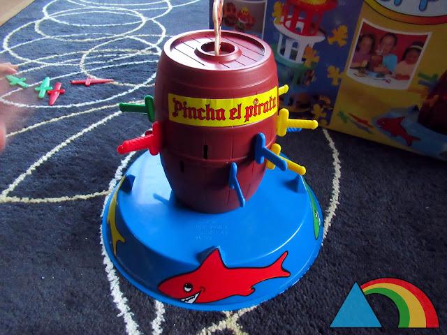 Pincha el pirata de Falomir juegos