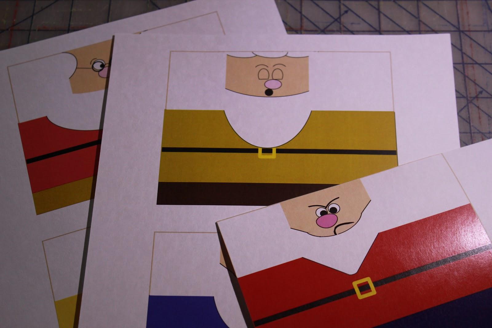 Kisses Free Printable Snow White S Seven Dwarfs