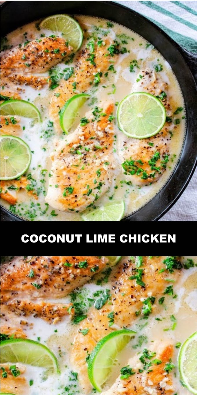 #The #World's #most #delicious #Coconut #Lime #Chicken