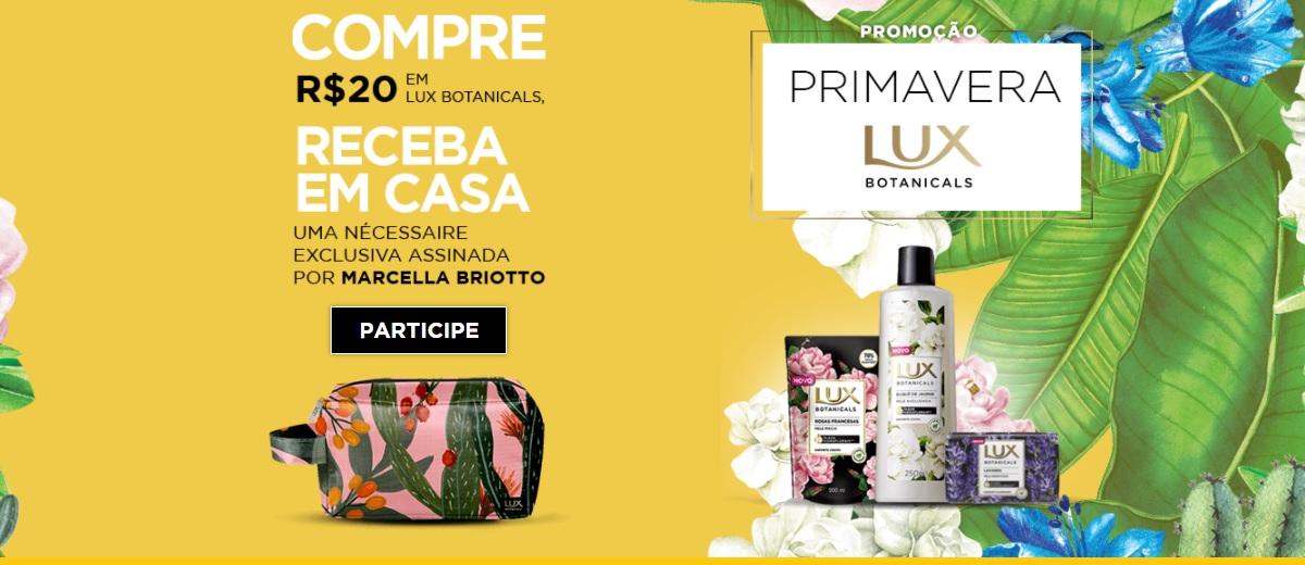 Promoção Lux Primavera 2020 Ganhe Brinde