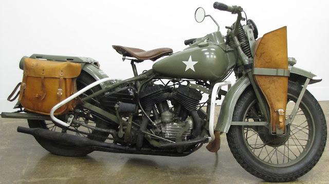 Sejarah Harley Davidson Wla, Motor Jaman Perang Dunia II