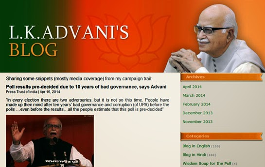 Bharatiya Janta Party - Mr.L.K.Advani