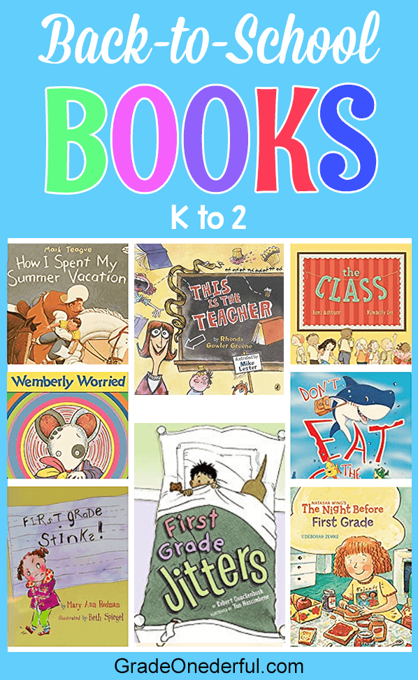 Teacher recommended. Eight fabulous back-to-school books for K-2.