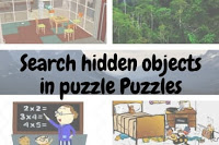 Search hidden objects in puzzle images for kids
