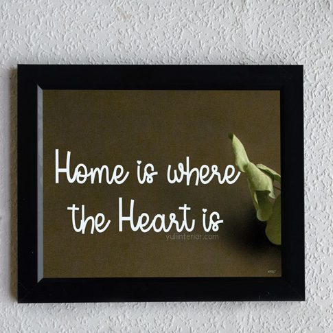 Home Quote Wall Frame, Framed Print in Port Harcourt Nigeria