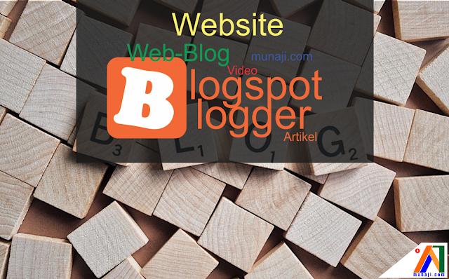 Ini Alasan WebBlog saya menggunakan Blogger /  Blogspot