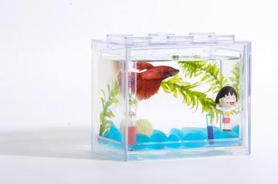 Lego Brick Shape Aquarium Tanks 1