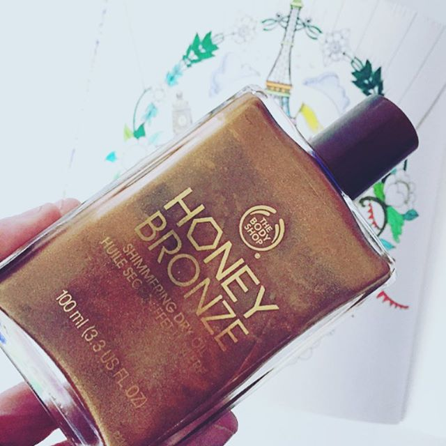 Honey Bronze Shimmering Dry Oil de The Body Shop
