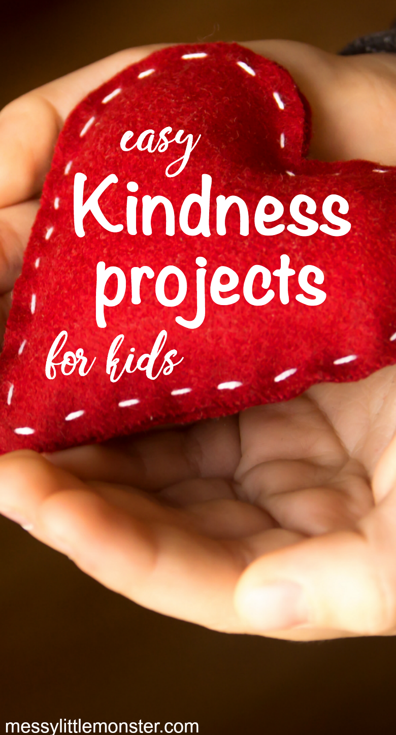 easy random acts of kindness projects for kids