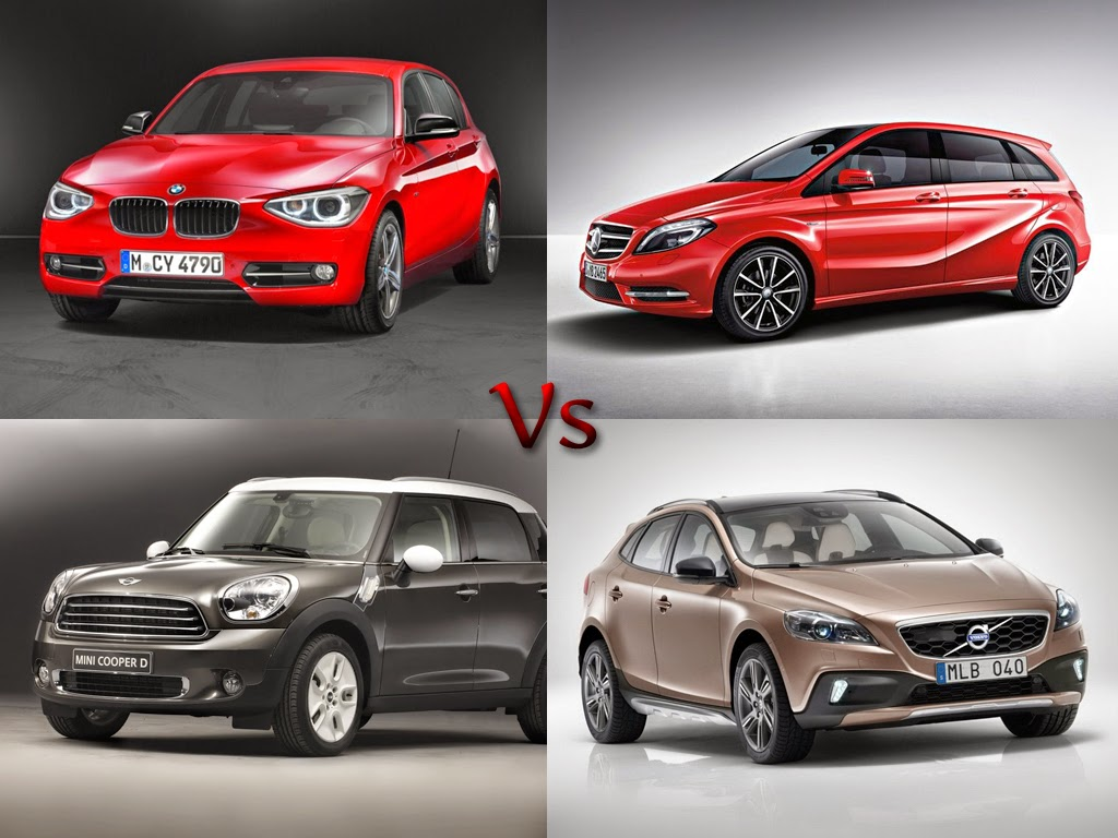 Most Expensive Hatchback Car In India Bmw 1 Series Vs Mercedes Benz